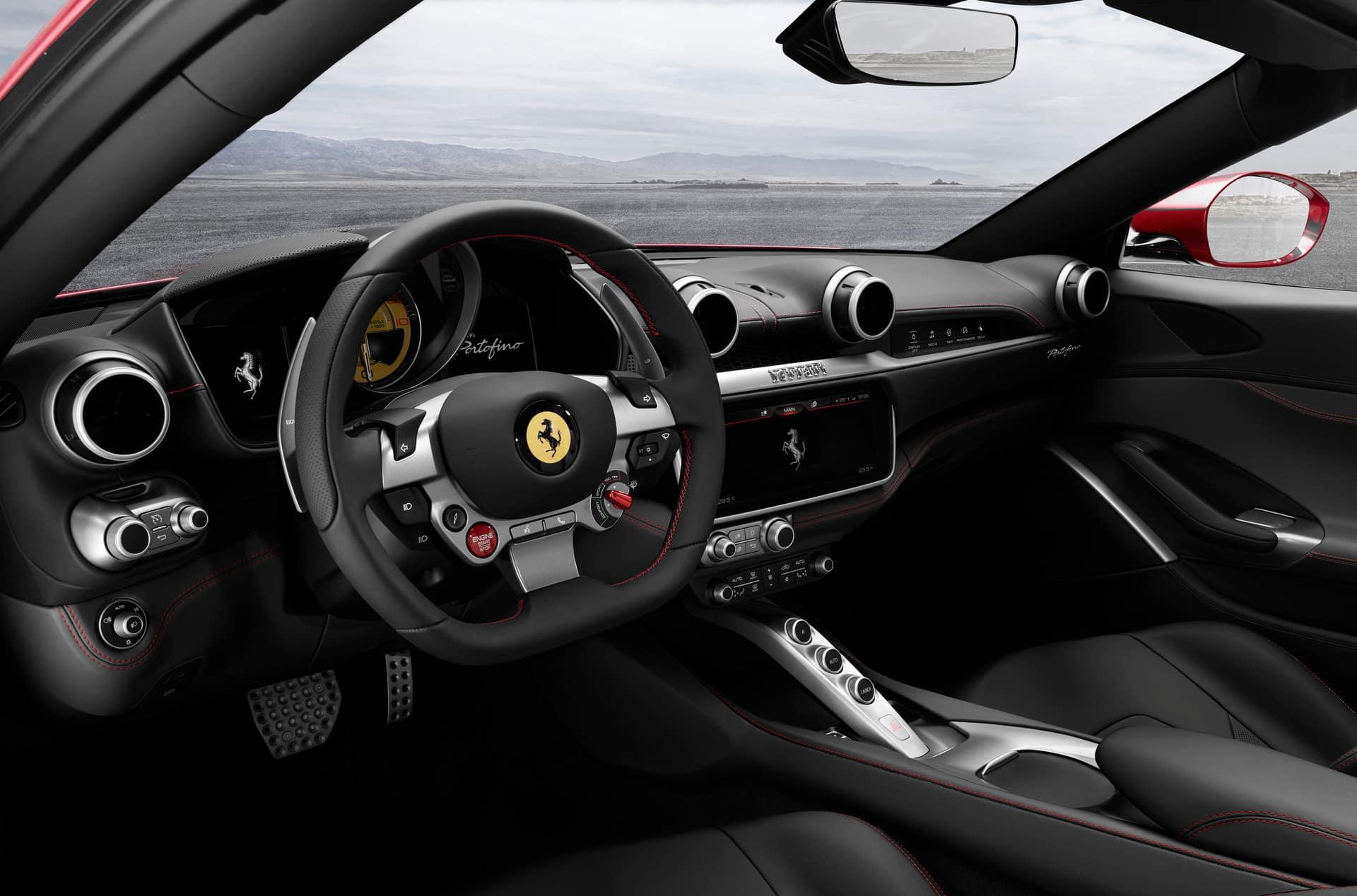 Ferrari Portofino Interior | Ferrari of Fort Lauderdale