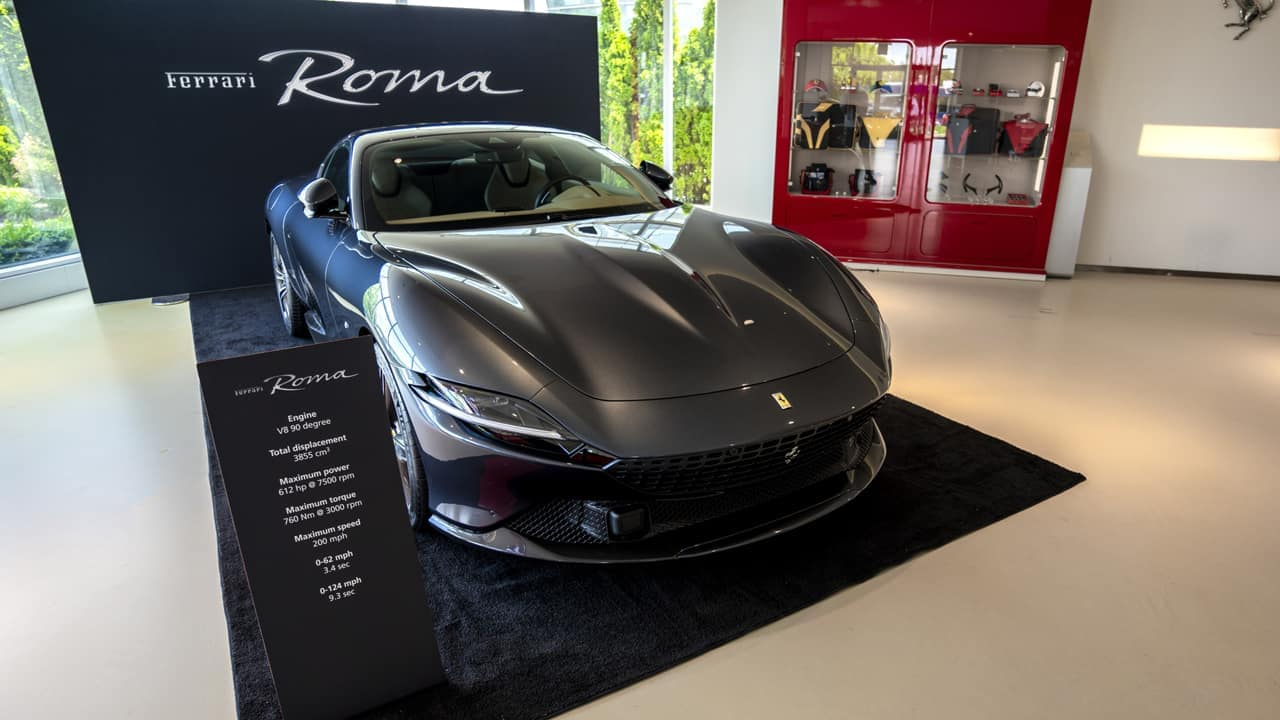 Ferrari Roma Tour at Ferrari of Fort Lauderdale