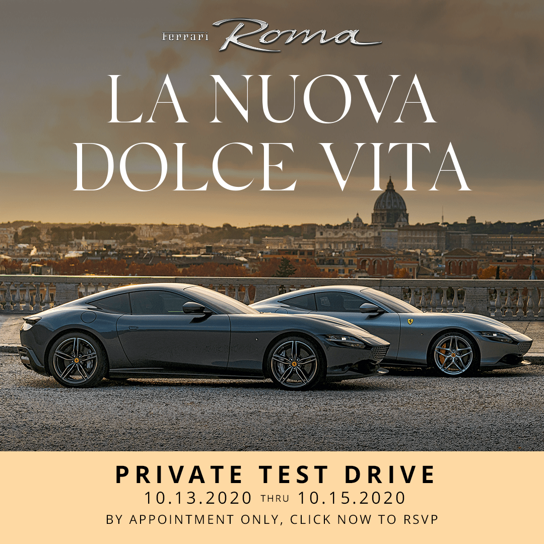 Ferrari Roma Dynamic Tour
