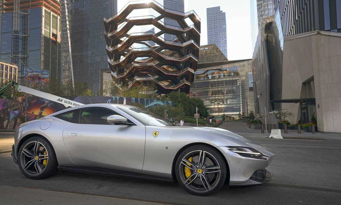 New Ferrari Roma Design