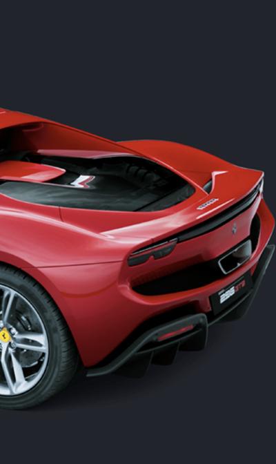 Ferrari 269 GTB rear view