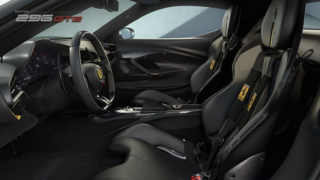 Ferrari 296 GTB interior