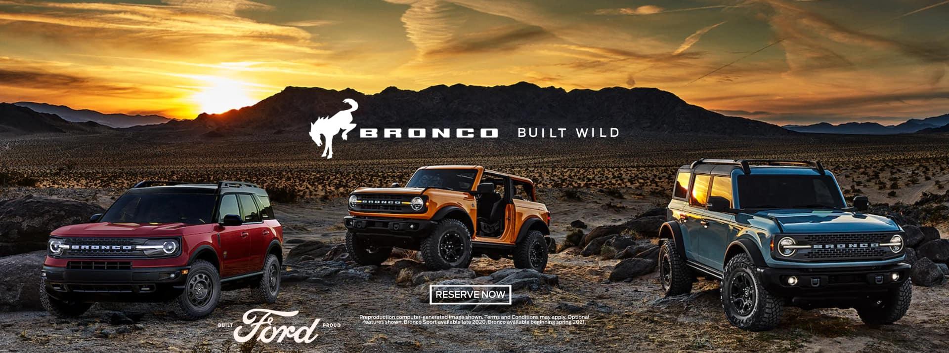 Bronco Built To Wild