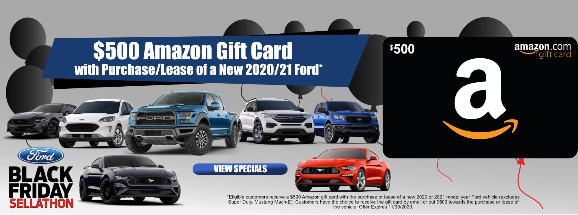November-2020 Black Friay $500 Amazon Card FF