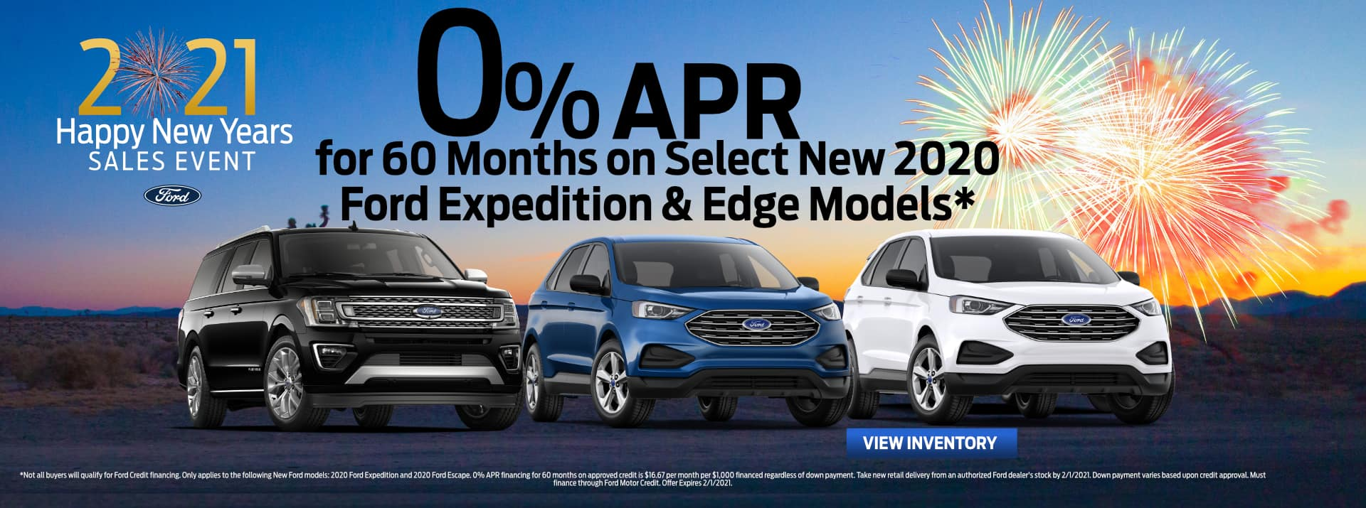 January-2021 Ford Expedition&Edge GENERAL FIESTA FORD