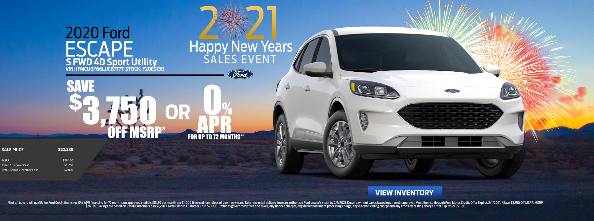 Revised_January-2021 Ford Escape Fiesta Ford
