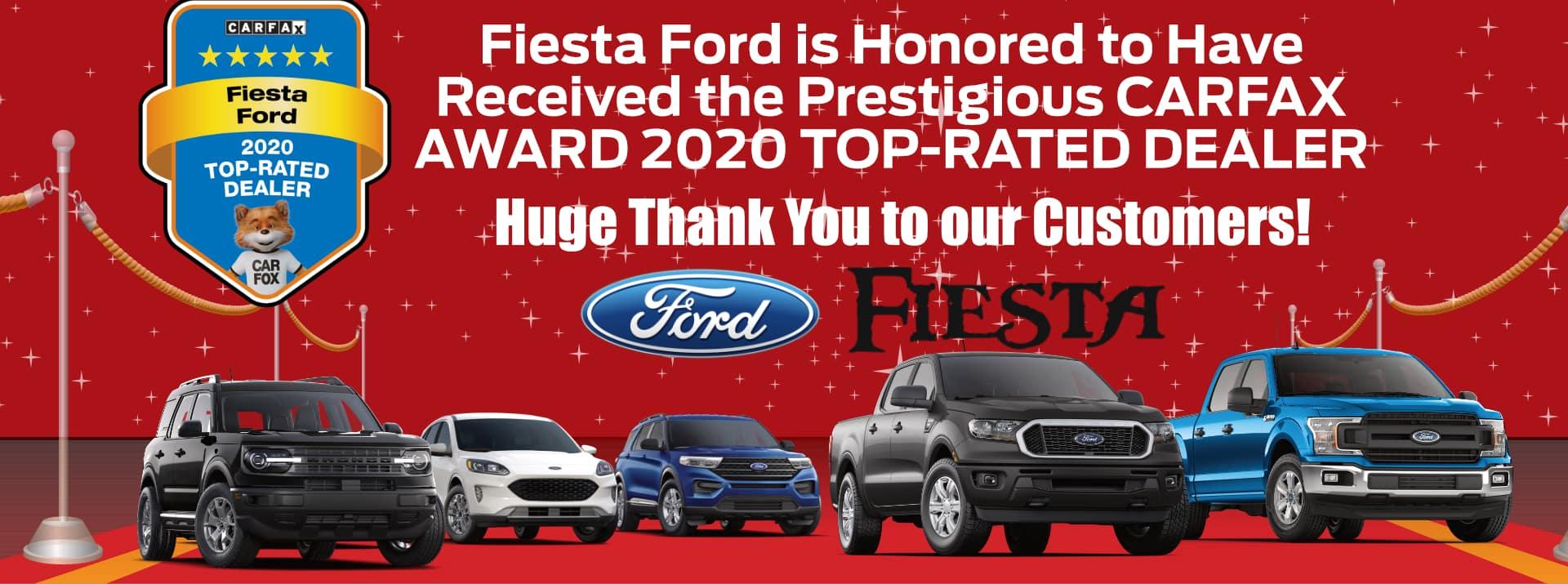 March-2021 CarFaxAward Fiesta FORD
