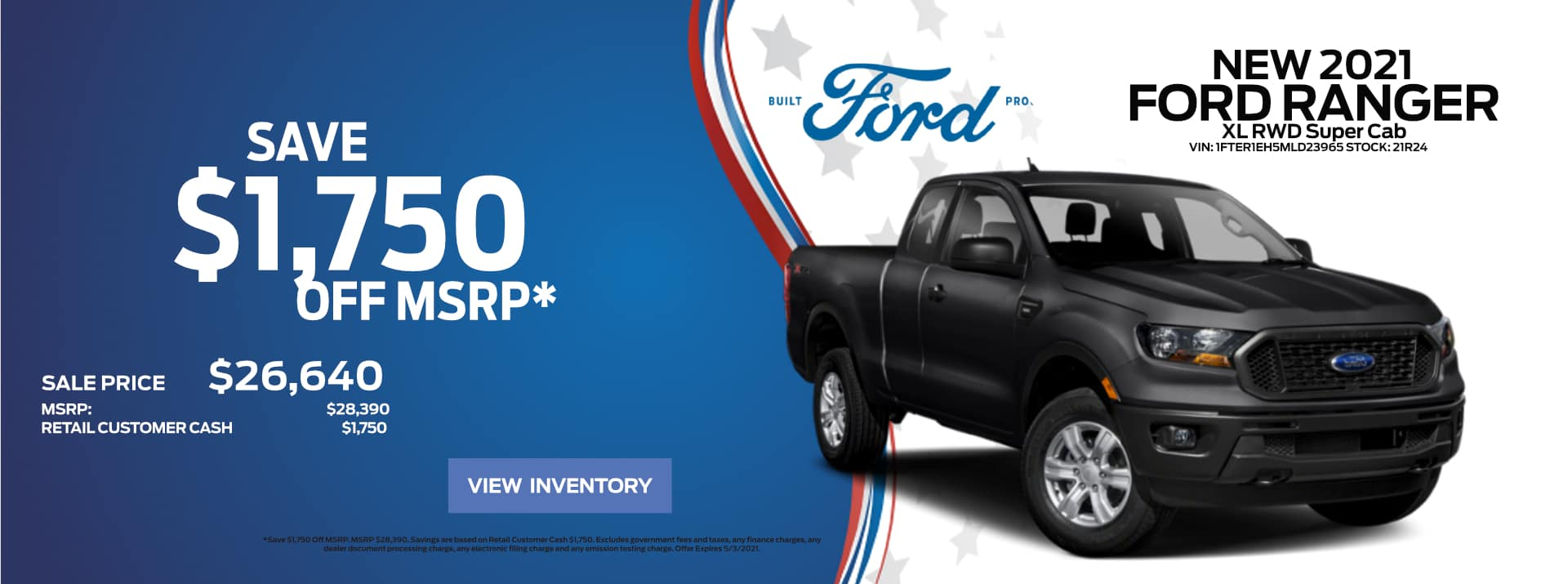 April-2021 Ford Ranger Save FF