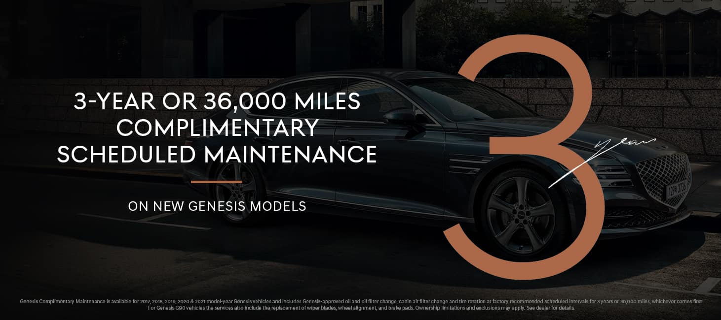 Genesis of Orland Park Complimentary Maintenance