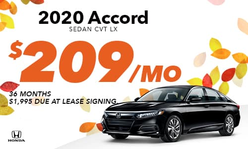 2020 Accord Lease Offer