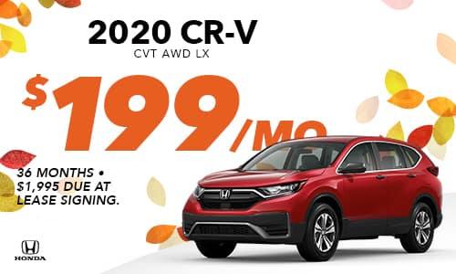 2020 CR-V Lease Offer