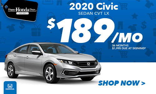 2020 Civic Lease Special