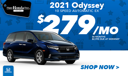 2021 Odyssey Lease Special