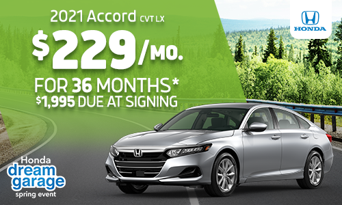2021 Accord Lease Offer