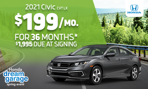 2021 Civic Lease Offer