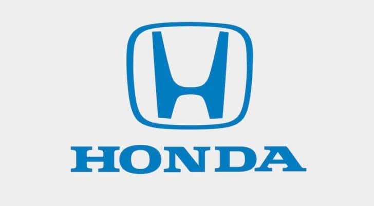 A Honda logo is shown.