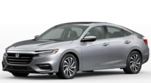 A silver 2022 Honda Insight EX is angled left.