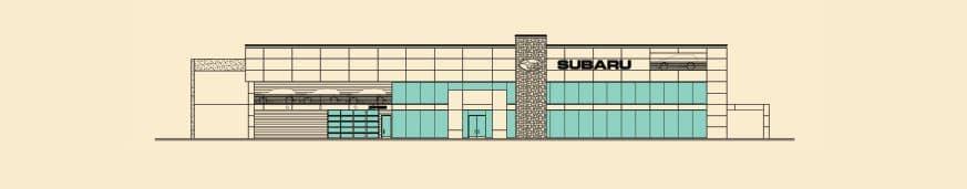 New Subaru dealership in Valencia, Ca