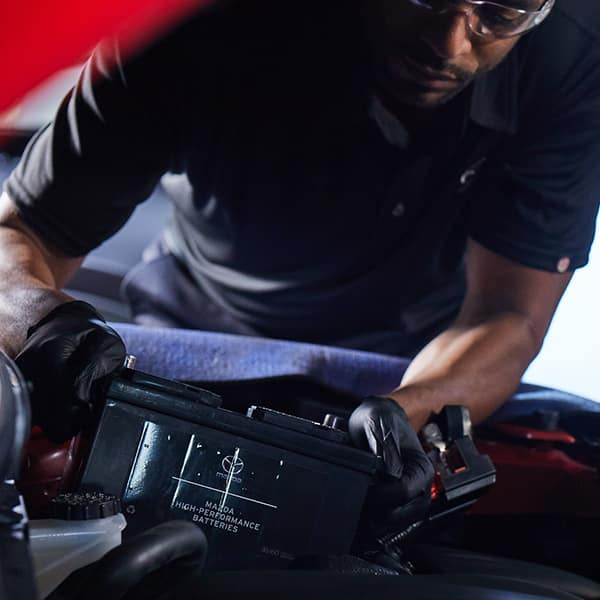 Battery Services at Hello Mazda Valencia
