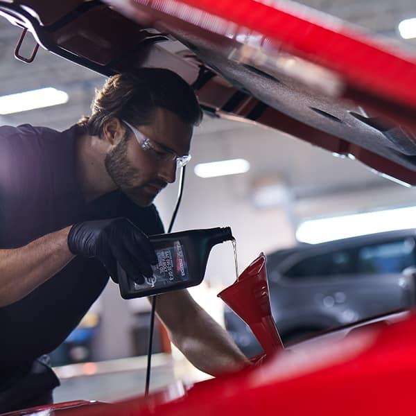 Oil Change at Hello Mazda Valencia