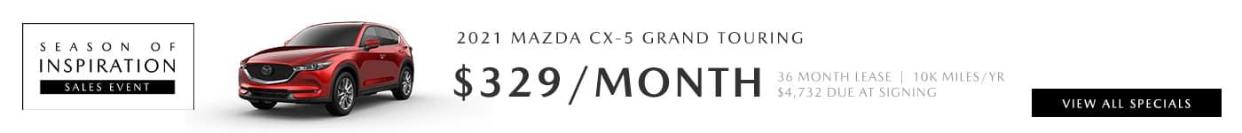 2021 Mazda CX-5 Deals near Santa Clarita, Ca at Hello Mazda of Valencia