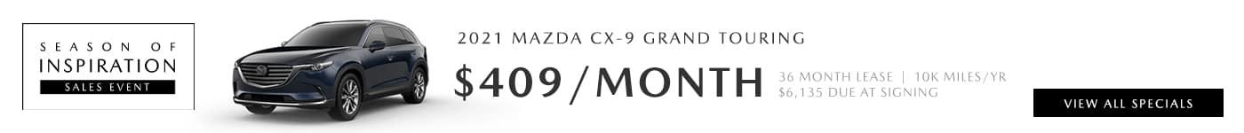 2021 Mazda CX-9 Deals near Santa Clarita, Ca at Hello Mazda of Valencia