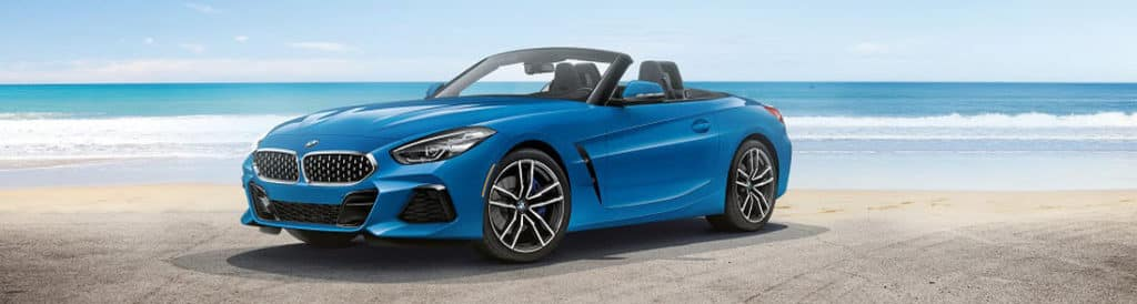 BMW Convertible Blue