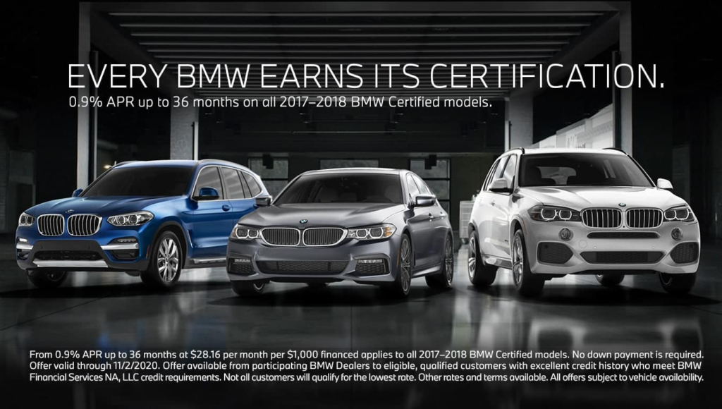 BMW CPO - Every BMW Earns Its Certification