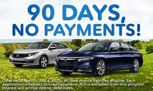 90 Days, No Payments