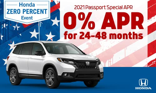 2021 Passport 0% APR Special