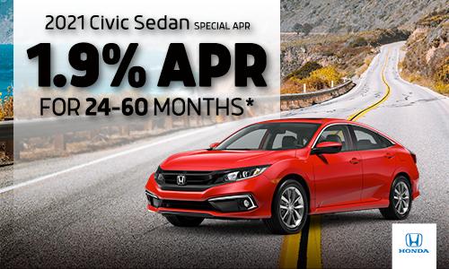 2021 Civic Sedan Special APR