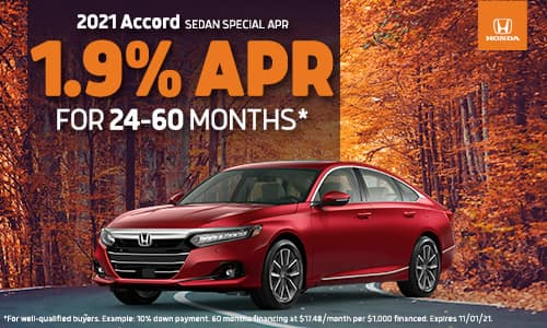 2021 Accord APR Special