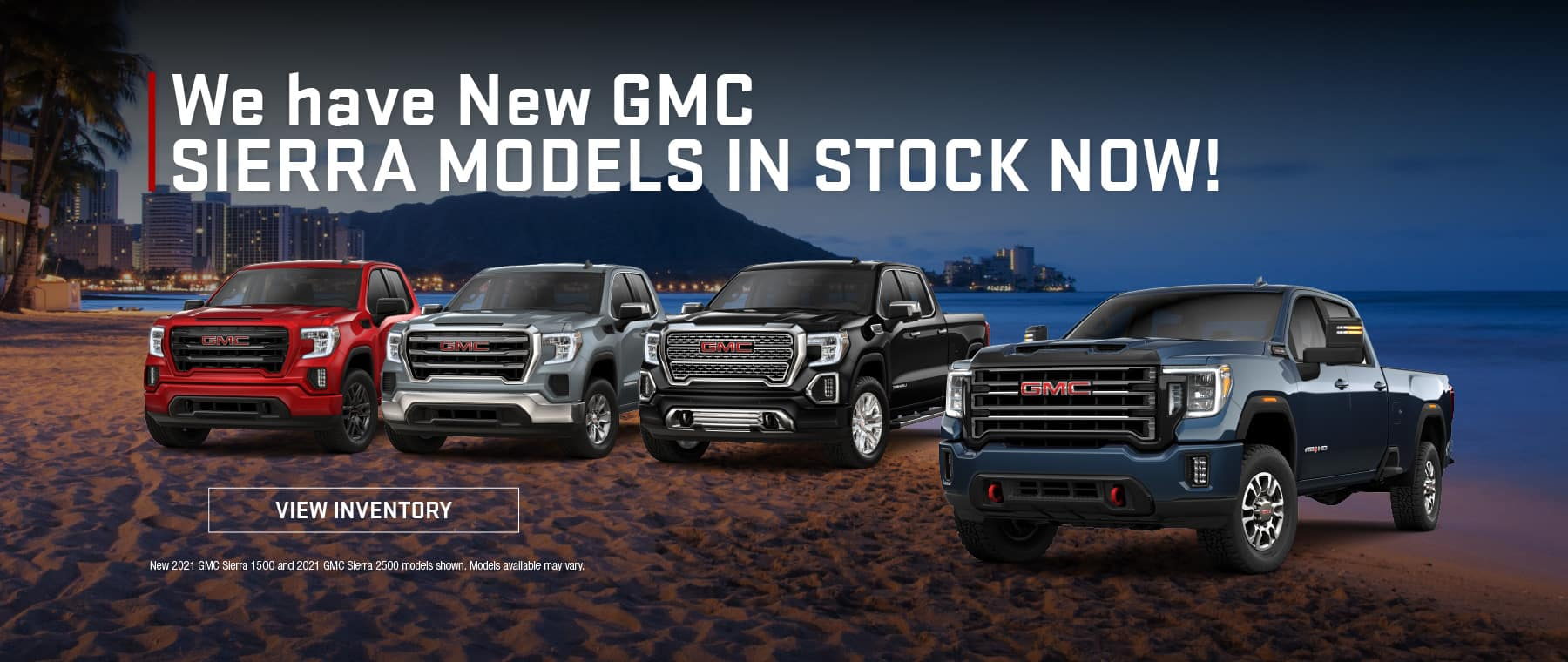 We have New GMC