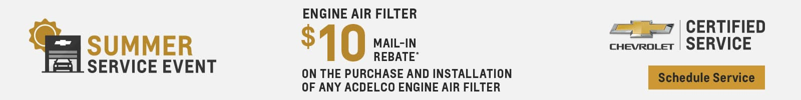 $10 Off Engine Air Filter