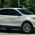 2020 Chevy Equinox LT trim in white paint color