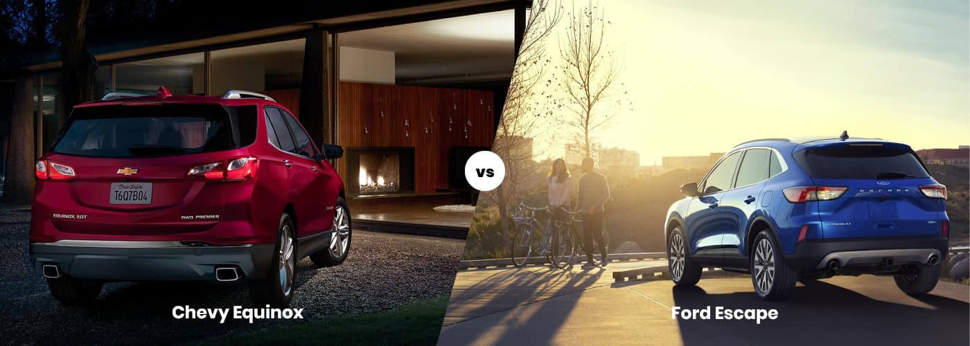 Chevy Equinox vs. Ford Escape