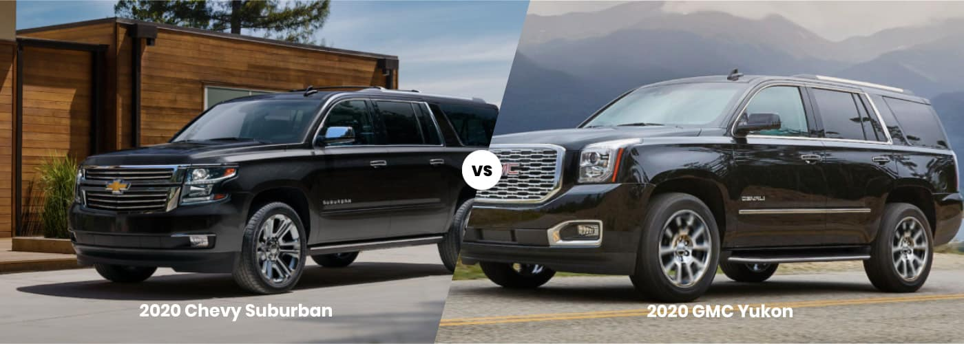 Chevrolet Suburban vs GMC Yukon