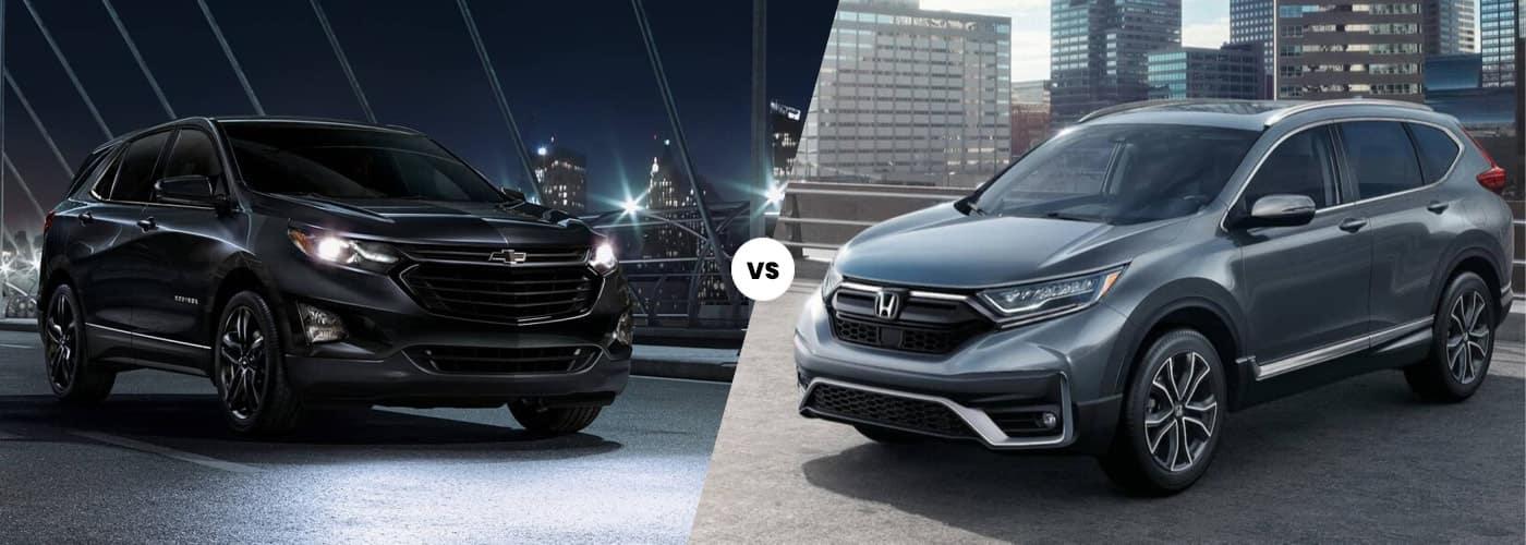 2020 Equinox vs CR-V