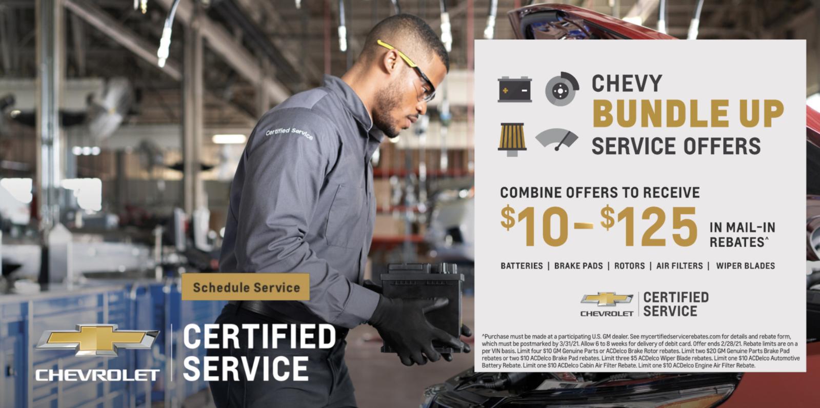 December Service offers Dec 1
