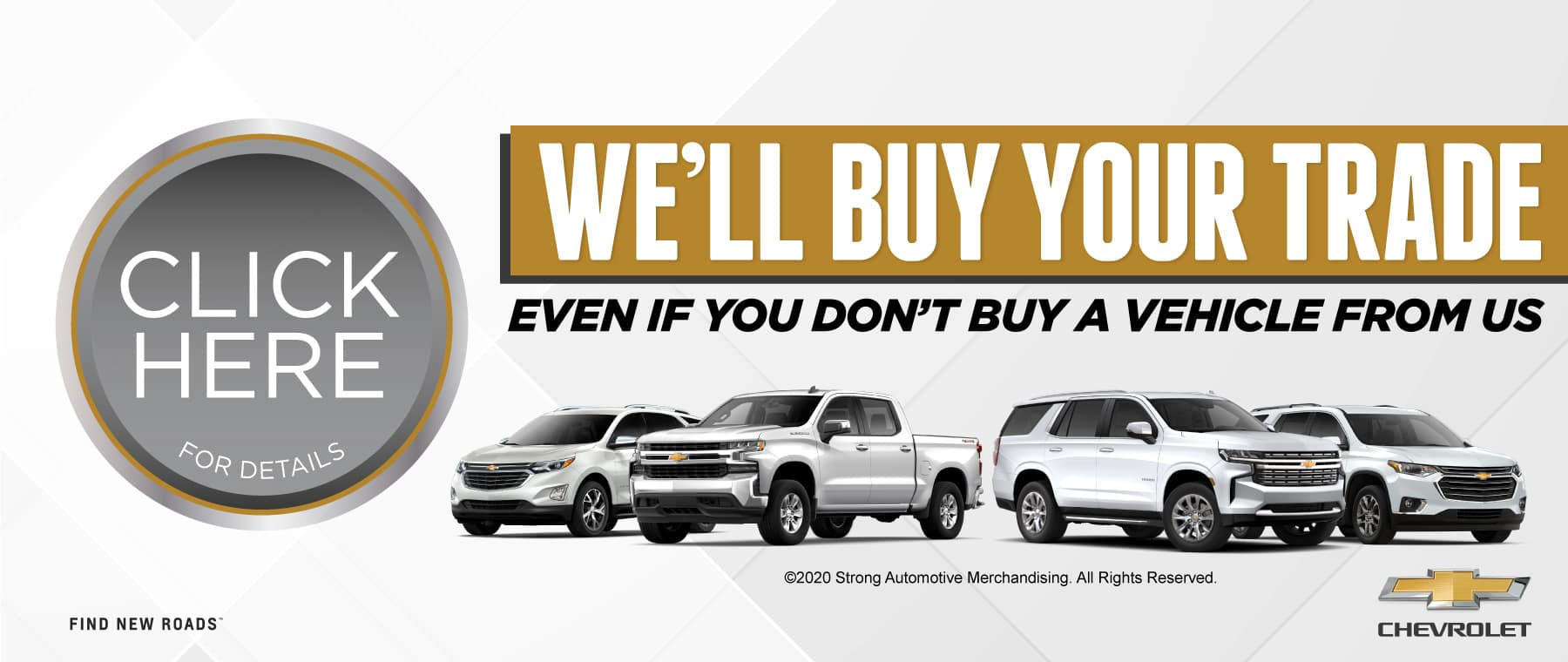 We'll buy your trade even if you don't buy ours | Act Now