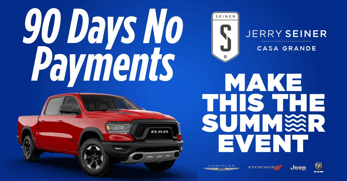 90 Days No Payment Sale
