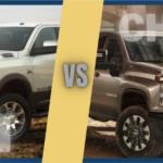 2021 Ram 2500 vs Chevy Silverado 2500