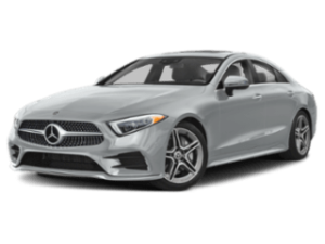 2019 Mercedes-Benz CLS Coupe angled