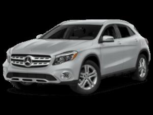 2019 Mercedes-Benz GLA angled