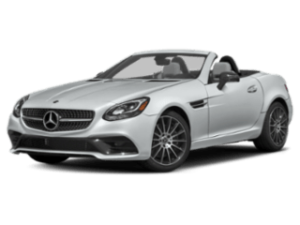 2019 Mercedes-Benz SLC Roadster angled