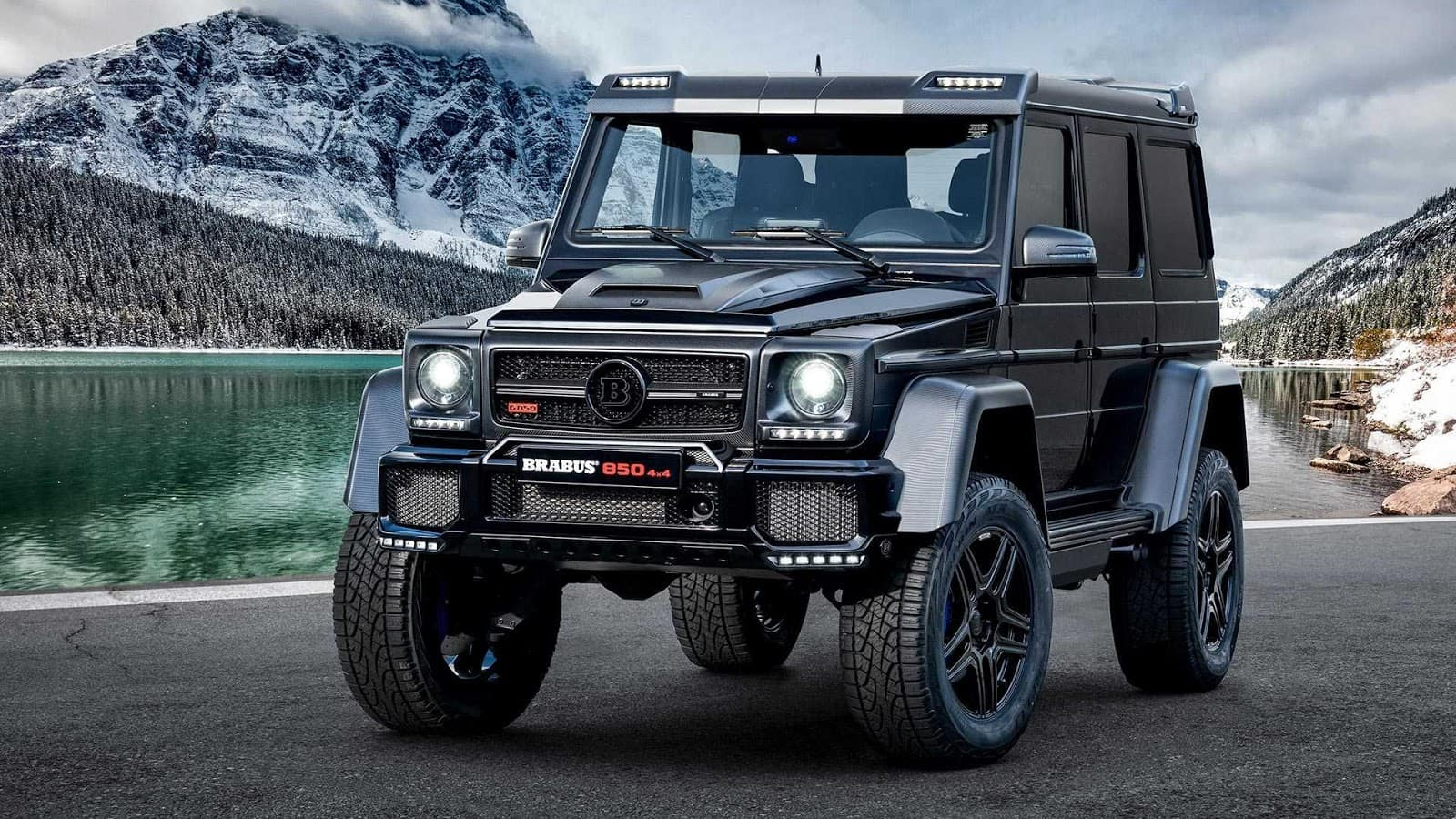 Mercedes Benz Takes Us Truckin With The 2020 Brabus G Wagon John Sisson Motors