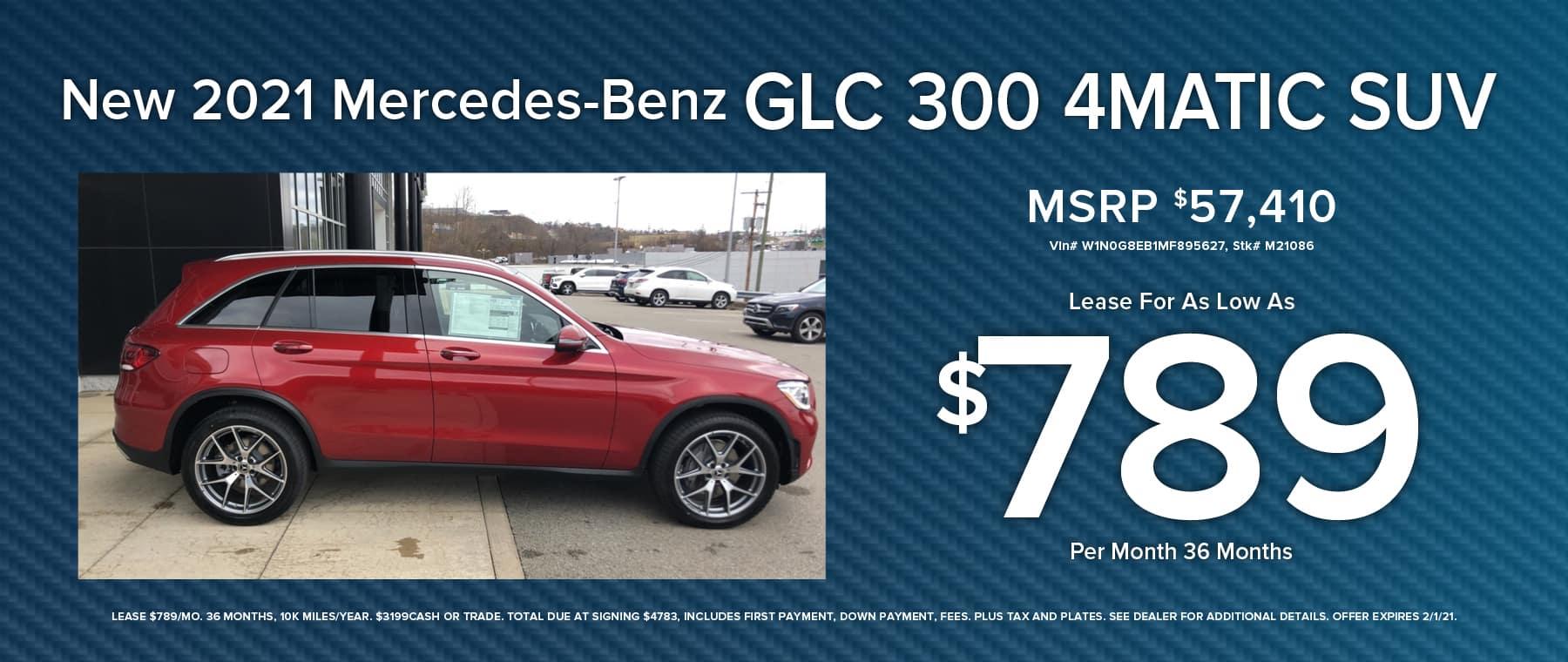 MERCEDES-BENZ GLC 300 4MATIC SUV