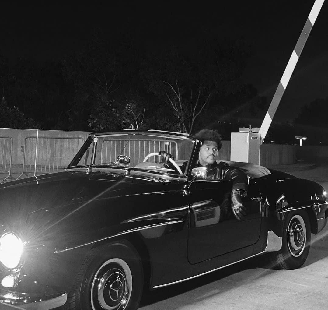 Blinding Lights Singer Shows Off His Throwback Mercedes Benz Cruiser John Sisson Motors