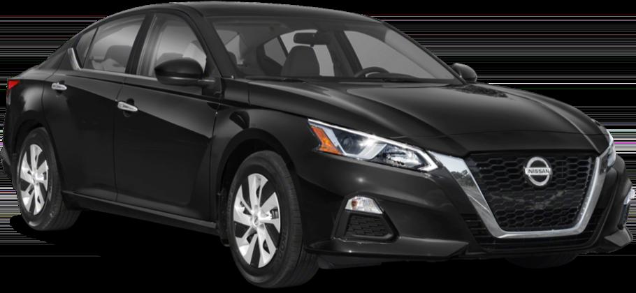 Nissan Black Sedan