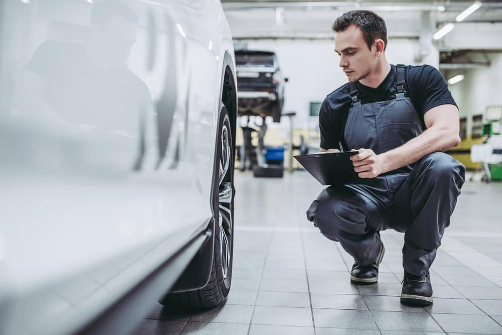 Multi-point Inspection on Certified Pre-Owned Car